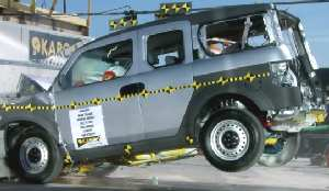 Honda Element Crash Test